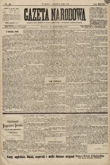Gazeta Narodowa. 1899, nr40