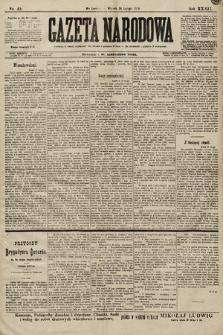 Gazeta Narodowa. 1899, nr45