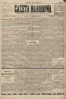 Gazeta Narodowa. 1899, nr46