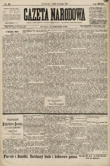 Gazeta Narodowa. 1899, nr48