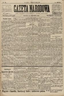 Gazeta Narodowa. 1899, nr52
