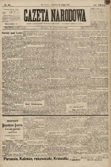 Gazeta Narodowa. 1899, nr54