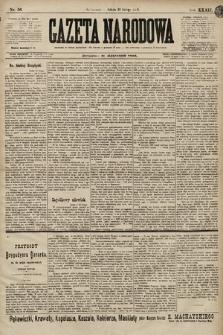 Gazeta Narodowa. 1899, nr56