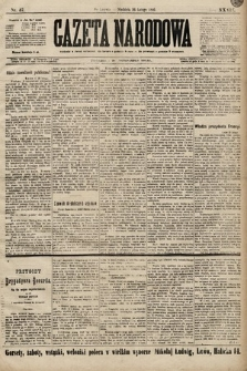 Gazeta Narodowa. 1899, nr57