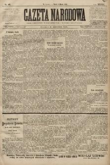 Gazeta Narodowa. 1899, nr67