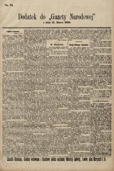 Gazeta Narodowa. 1899, nr72