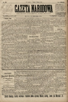 Gazeta Narodowa. 1899, nr76