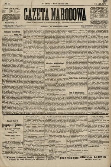 Gazeta Narodowa. 1899, nr77
