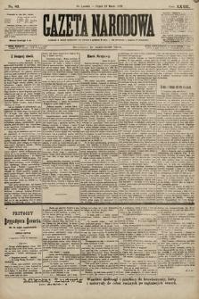 Gazeta Narodowa. 1899, nr83