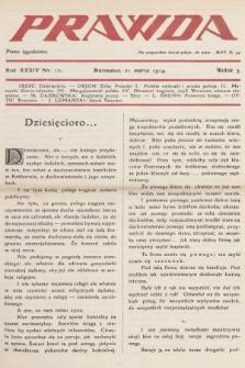 Prawda : pismo tygodniowe. R.34, 1914, nr12