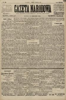 Gazeta Narodowa. 1899, nr91