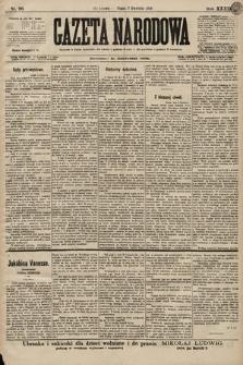 Gazeta Narodowa. 1899, nr96