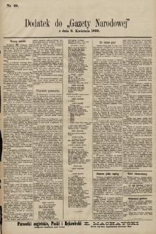 Gazeta Narodowa. 1899, nr99
