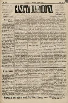 Gazeta Narodowa. 1899, nr107