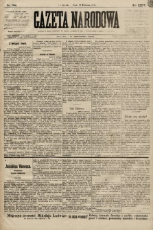 Gazeta Narodowa. 1899, nr108