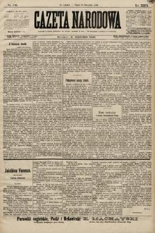 Gazeta Narodowa. 1899, nr110