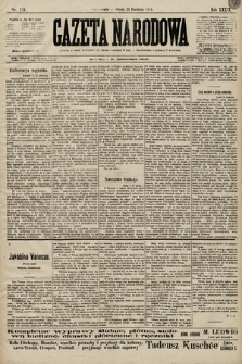 Gazeta Narodowa. 1899, nr111