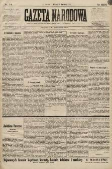 Gazeta Narodowa. 1899, nr114