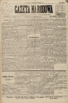 Gazeta Narodowa. 1899, nr116