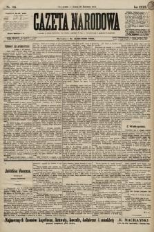 Gazeta Narodowa. 1899, nr118