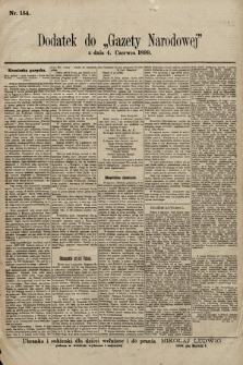 Gazeta Narodowa. 1899, nr154