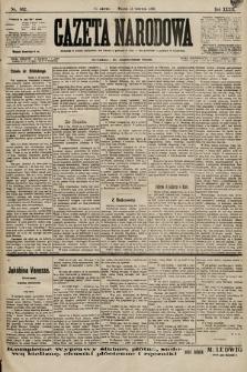 Gazeta Narodowa. 1899, nr162