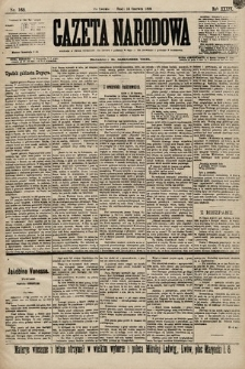 Gazeta Narodowa. 1899, nr163