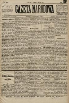Gazeta Narodowa. 1899, nr165