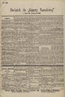 Gazeta Narodowa. 1899, nr168
