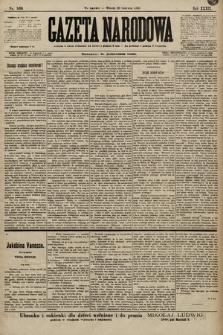 Gazeta Narodowa. 1899, nr169