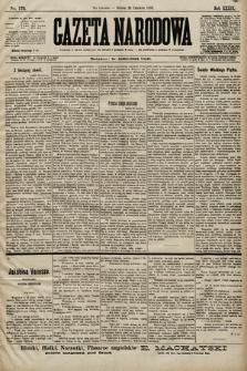Gazeta Narodowa. 1899, nr173