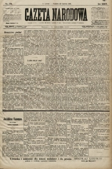 Gazeta Narodowa. 1899, nr174