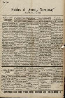 Gazeta Narodowa. 1899, nr175