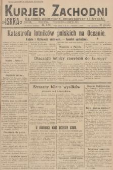 Kurjer Zachodni Iskra : dziennik polityczny, gospodarczy i literacki. R.19, 1928, nr215