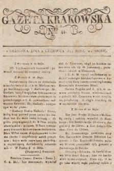 Gazeta Krakowska. 1824, nr44