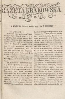 Gazeta Krakowska. 1818, nr23