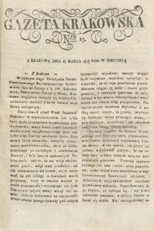 Gazeta Krakowska. 1818, nr25