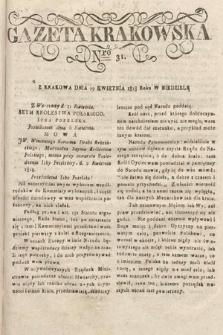 Gazeta Krakowska. 1818, nr31