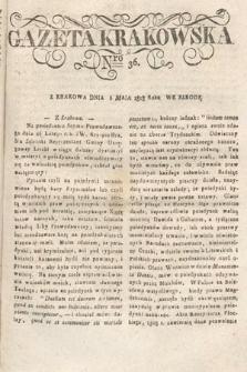 Gazeta Krakowska. 1818, nr36