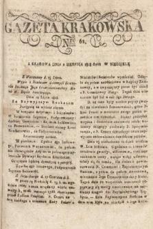 Gazeta Krakowska. 1818, nr61