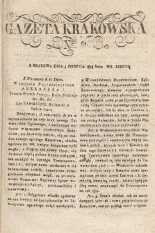 Gazeta Krakowska. 1818, nr62