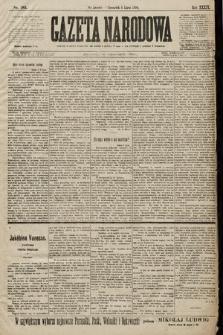 Gazeta Narodowa. 1899, nr185