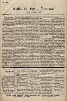 Gazeta Narodowa. 1899, nr196