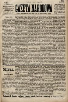 Gazeta Narodowa. 1899, nr215