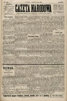 Gazeta Narodowa. 1899, nr216