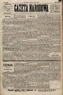 Gazeta Narodowa. 1899, nr218
