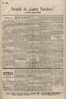 Gazeta Narodowa. 1899, nr226