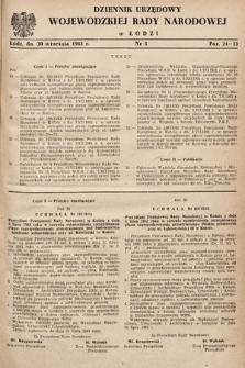 Dziennik Urzędowy Wojewódzkiej Rady Narodowej wŁodzi. 1963, nr5