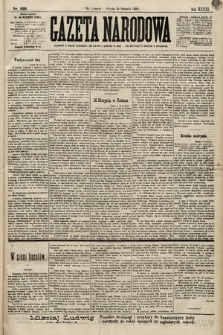 Gazeta Narodowa. 1899, nr229
