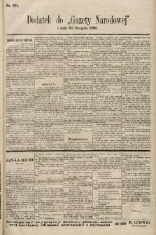 Gazeta Narodowa. 1899, nr231